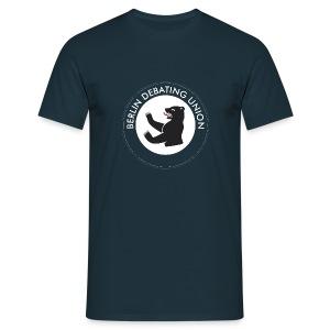 T - round logo - Männer T-Shirt
