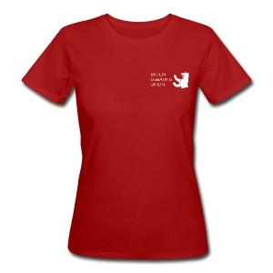 Bio-T - white logo - Frauen Bio-T-Shirt
