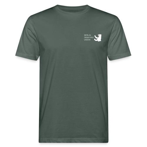 Bio-T - white logo - Männer Bio-T-Shirt