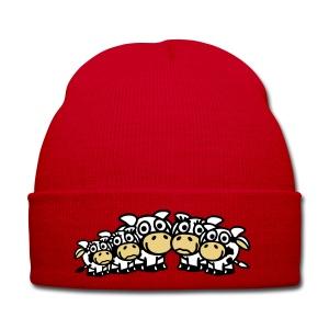 Bonnet vaches ! - Bonnet d'hiver
