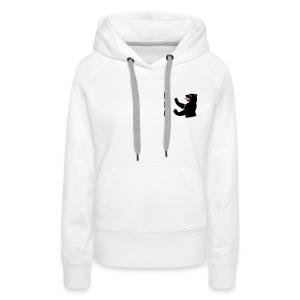 Kapuzenpulli - black logo - Frauen Premium Hoodie