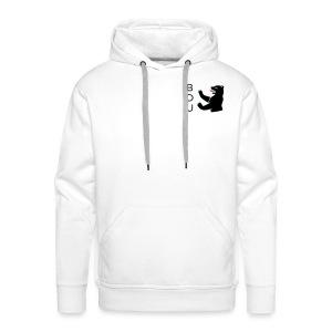 Kapuzenpulli - black logo - Männer Premium Hoodie