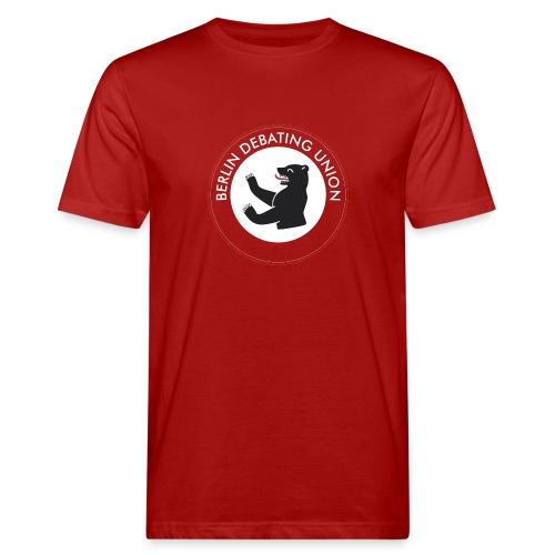 T -  round logo - Männer Bio-T-Shirt