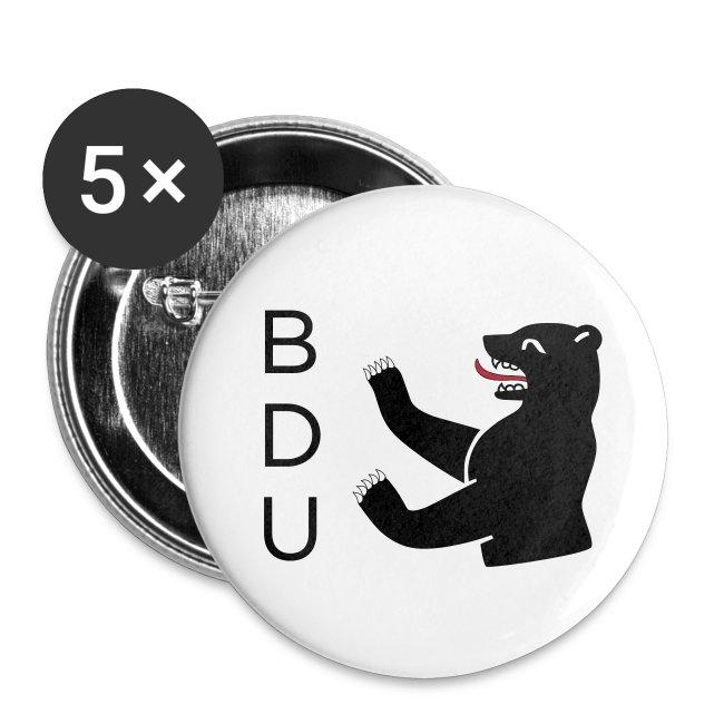 BDU Buttons - black logo
