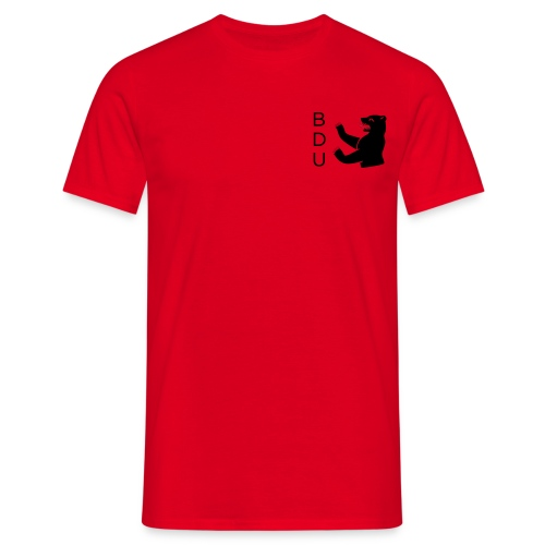 T - black logo - Männer T-Shirt