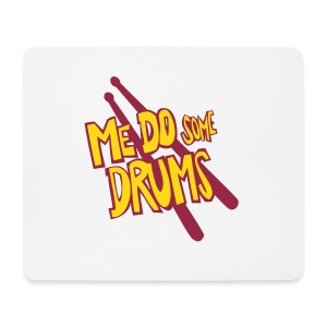 me do some drums mousepad - Mouse Pad (horizontal)