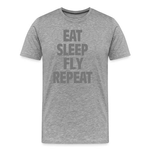 Flying all day long! - Männer Premium T-Shirt
