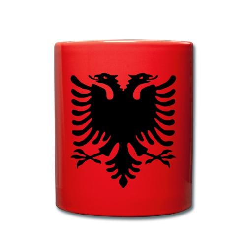 Tasse einfarbig - Der Doppelkopfadler unser Symbol - unser Kosovo