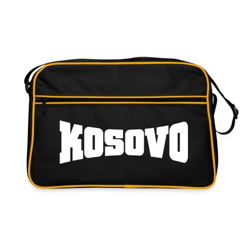 Retro Tasche - Der Doppelkopfadler unser Symbol - unser Kosovo