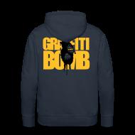 Hoodies & Sweatshirts ~ Men's Premium Hoodie ~ Graffiti Bomb Hoodie