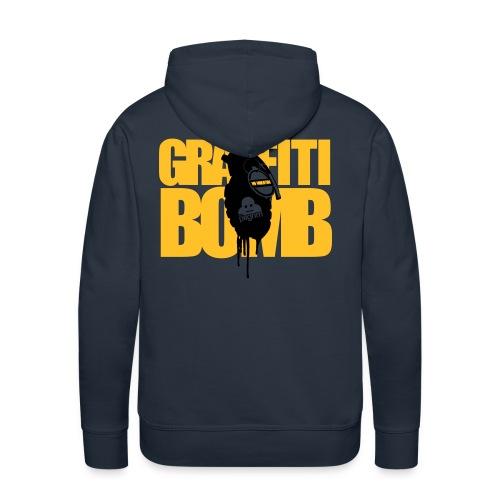 Graffiti Bomb Hoodie - Men's Premium Hoodie