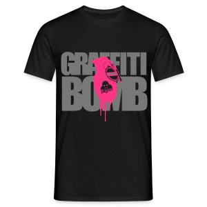 Graffiti Bomb (Premium T) - Men's T-Shirt