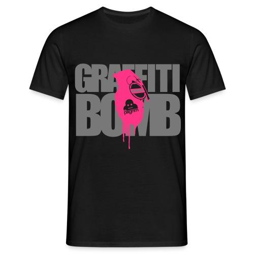 Graffiti Bomb (Premium T) - Men's T-Shirt