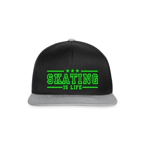 SKATING IS LIVE Cap - Snapback Cap
