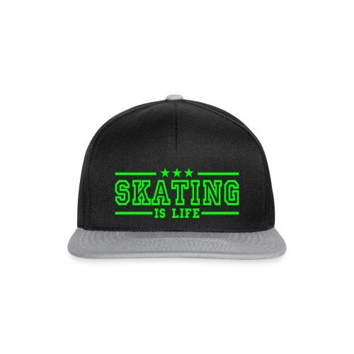 SKATING IS LIVE Cap - Snapback Cap
