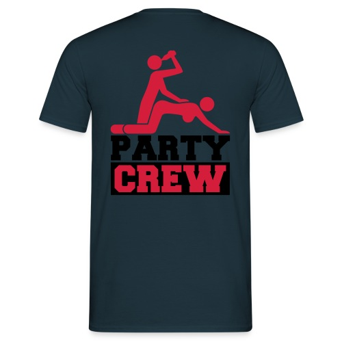 Party crew T-shirt - mænd - Herre-T-shirt