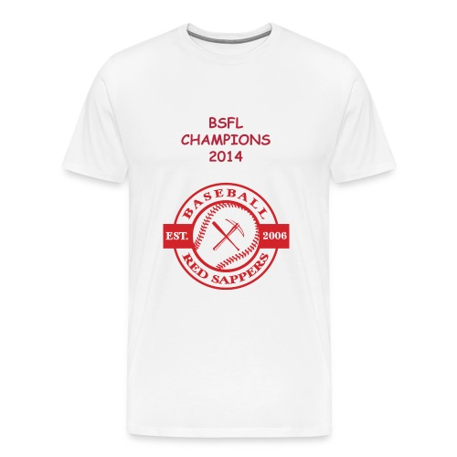 Men BSFL CHAMPIONS 2014 Tshirt - Men's Premium T-Shirt