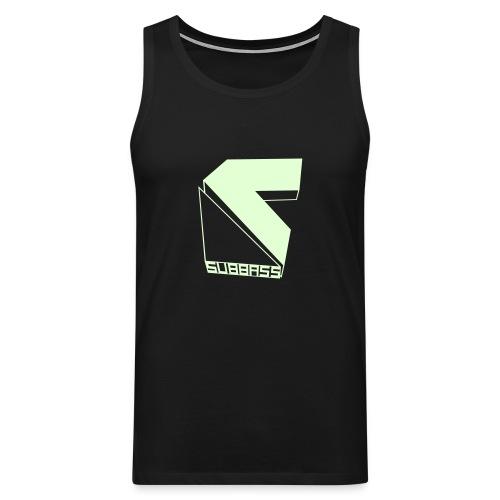 SUBBASS T-Shirt ohne Ärmel Glow in Dark! - Männer Premium Tank Top