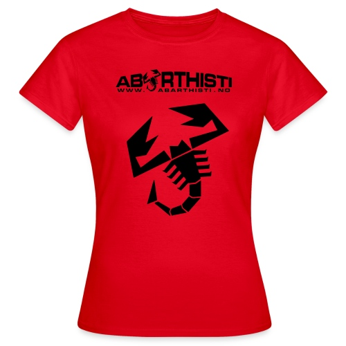 Scorpion T-shirt - T-skjorte for kvinner