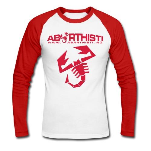 Scorpion Langermet - Langermet baseball-skjorte for menn