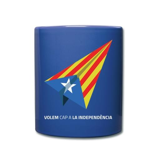 Tassa Color Volem cap a La Independència - Taza de un color