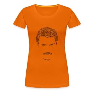 Freddie Head Lady (Black Logo) - Frauen Premium T-Shirt