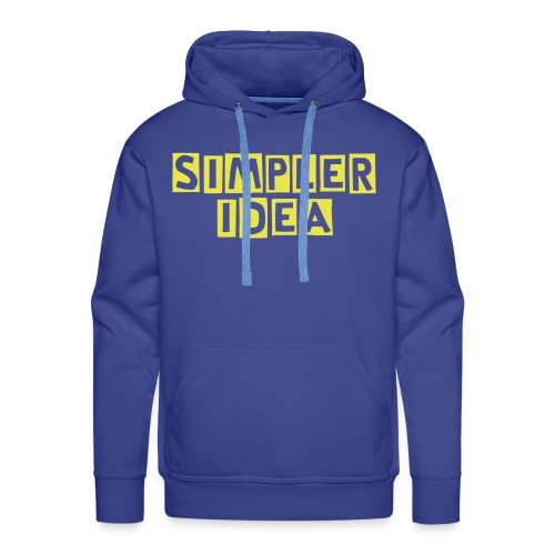Simpler Idea Theme - Men's Premium Hoodie