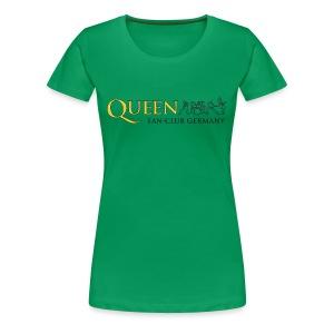 QFCG Lady (Black Logo) - Frauen Premium T-Shirt