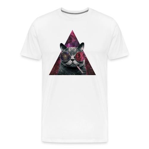 Hipster Cat 2 - Men's Premium T-Shirt