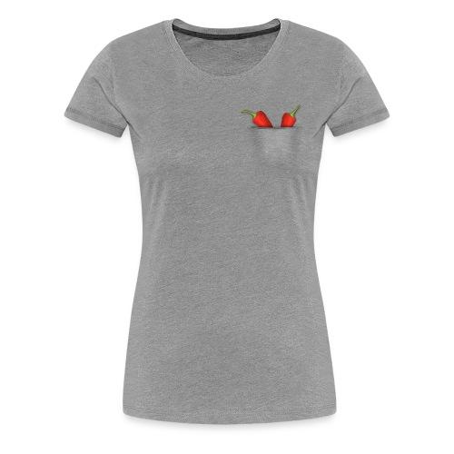 Chili in der Tasche - Frauen Premium T-Shirt