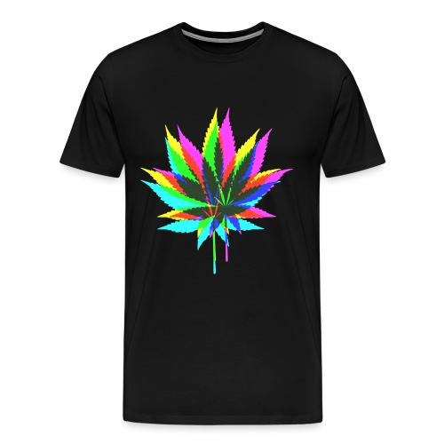 Trippy Bud Shirt - Men's Premium T-Shirt