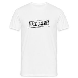 sundance white black district M - Men's T-Shirt