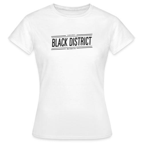 sundance white black district W - Women's T-Shirt