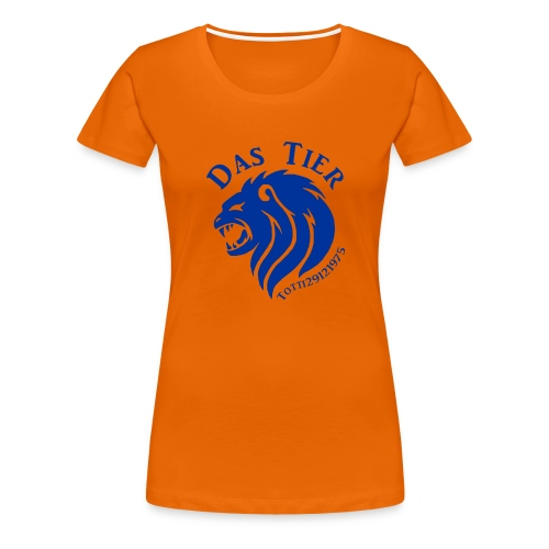 Der Hingucker! - Frauen Premium T-Shirt