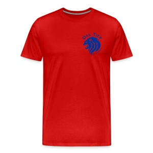 Blauer Totti DELUXE - Männer Premium T-Shirt
