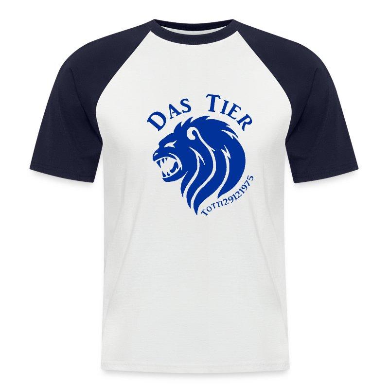 Blau Blau Blau - Männer Baseball-T-Shirt