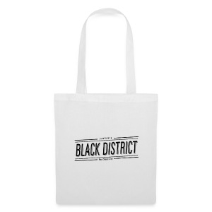 sundance black district tote bag white - Tote Bag