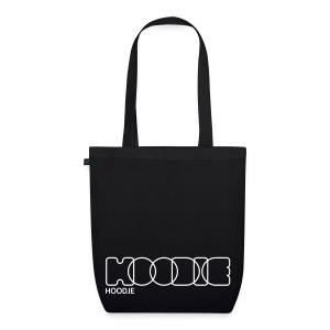 Hoodie Tote Bag Black - EarthPositive Tote Bag