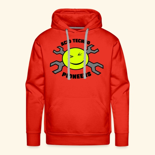 Acid Techno Pioneers Collection Men's Hoodie - Men's Premium Hoodie