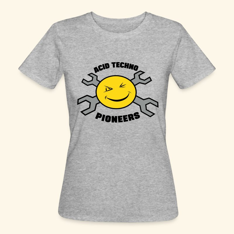 "Acid Techno Pioneers Collection Women's Organic T-shirt ""EathPositive - Women's Organic T-shirt"