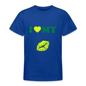 I love my (kiss) - Teenage T-shirt