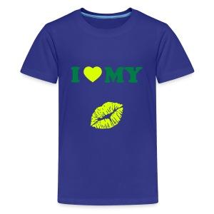 I love my (kiss) - Teenage Premium T-Shirt