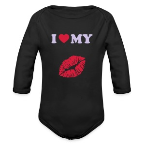 I love my (kiss) - Longsleeve Baby Bodysuit