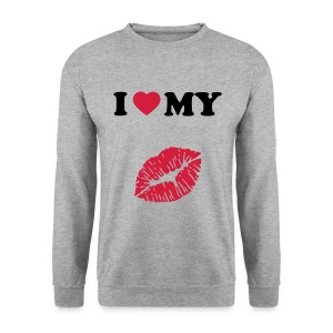 I love my (kiss) - Men's Sweatshirt