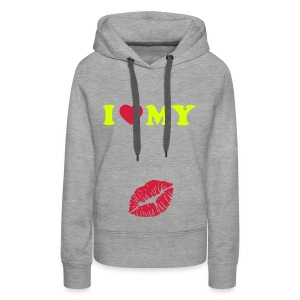 I love my (kiss) - Women's Premium Hoodie