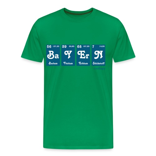 Bavarian Chemical - Männer Premium T-Shirt