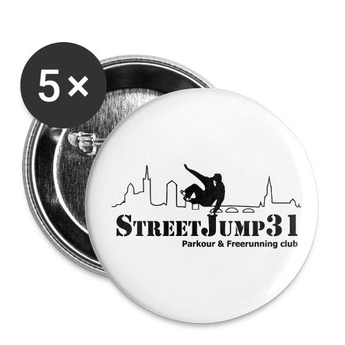 Badge moyen 32 mm - toulouse,streetjump31,freerunning,france