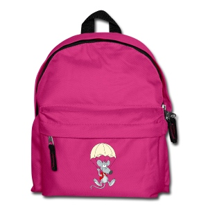 Parachuting Mouse - Kids' Backpack