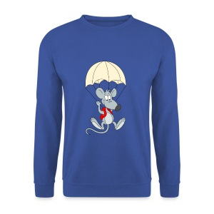 Parachuting Mouse - Men's Sweatshirt