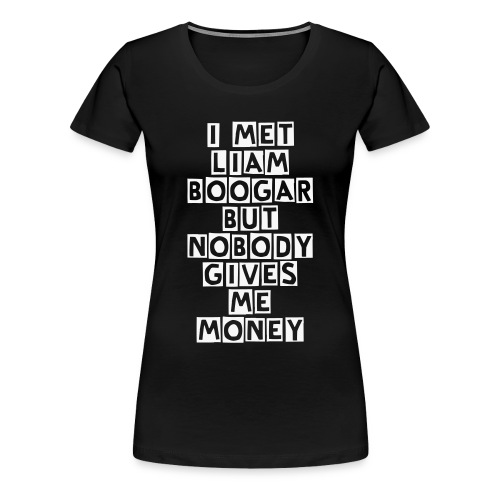 NOBODY BW BLACK - Frauen Premium T-Shirt